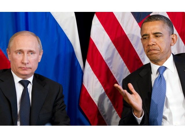 Obama Tells Putin to Pull Back Troops in Crimea