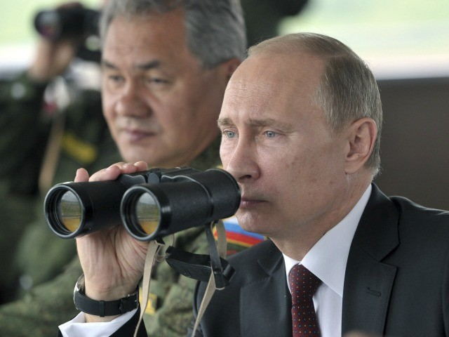 Putin Orders Combat Readiness Test for Troops on Ukranian Border