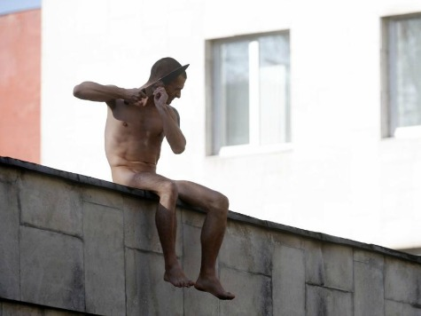 Russian Artist Pyotr Pavlensky Chops Off Ear in Protest Against Russia's Forced Psychiatry
