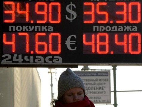Russian Economy Stops Growing, Economy Ministry Says