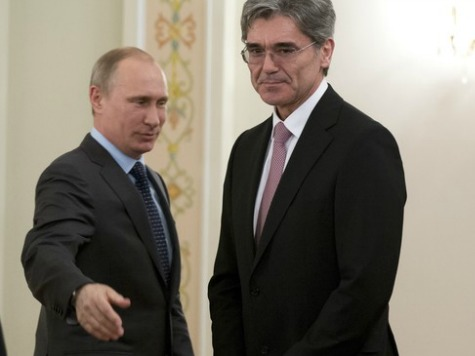 German Company Siemens to Keep Russian Business Ties