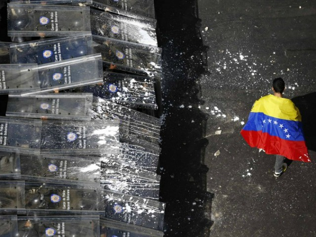 'The Nation' Backs Repression in Venezuela