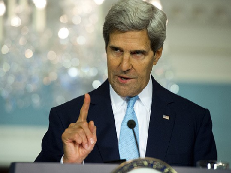 Kerry Blames Israel For Rise of ISIS