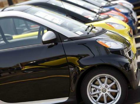 Vandals Overturn Smart Cars in San Francisco