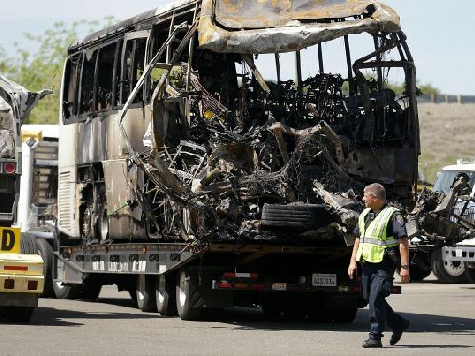 CA: Fatal Bus Crash a Mystery; Not First Fiery FedEx Accident