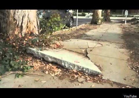 LA: $20 Million in Sidewalk Fund Unused as Cracked Walkways Impede Access