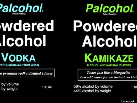 Powdered Alcohol Creates a Stir