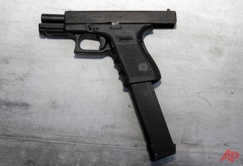 FBI Gun Recovered from Bakersfield Gang