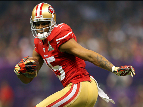 Report: 49ers, Crabtree Far Apart on Contract Negotiations