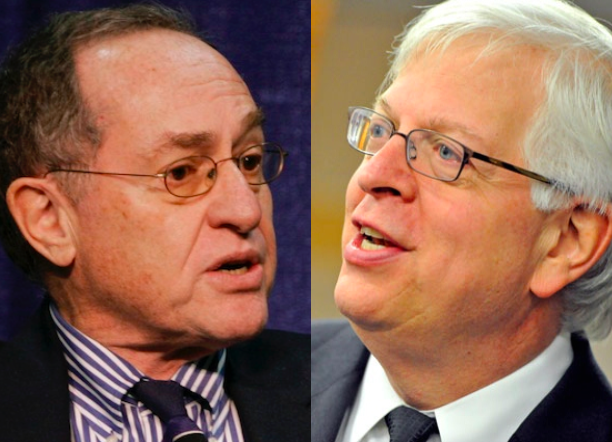 Dershowitz-Prager: Two Brilliant Minds Spar, Unite in L.A.