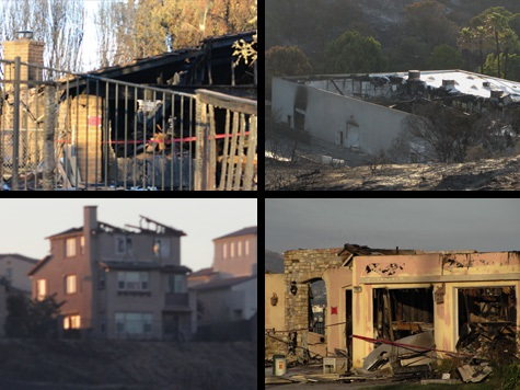 San Diego Fires Die Down as Arson Investigation Heats Up