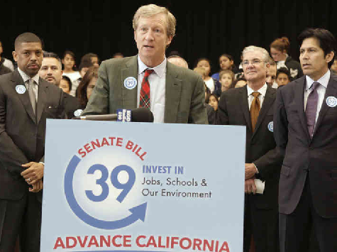 Billionaire Tom Steyer to Invest $50 Million to Defeat GOP
