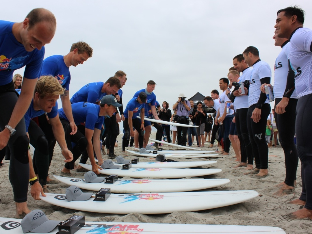 U.S. Military Defeats British Forces–in Surfing