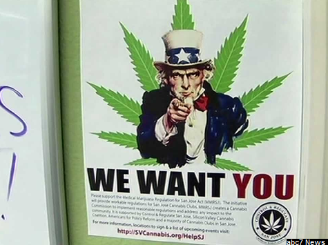 'Weed for Votes' Campaign Staged in San Jose by Marijuana Collective