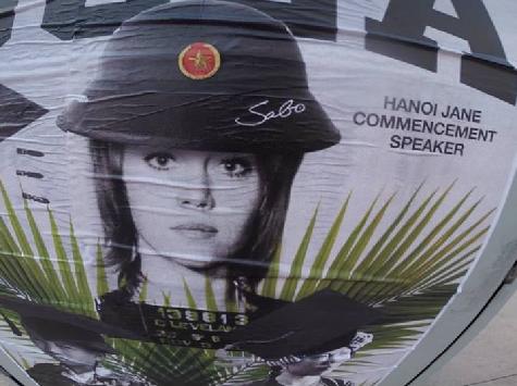 'Hanoi Jane' Street Art Targets Jane Fonda Ahead of UCLA Commencement Speech