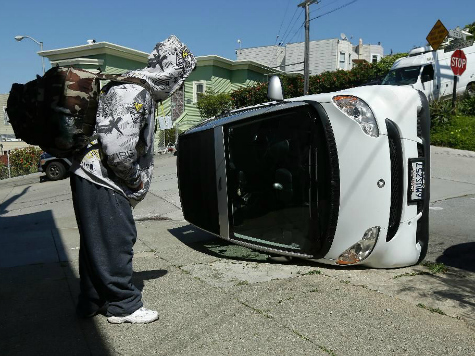 More Smart Cars Tipped in San Francisco