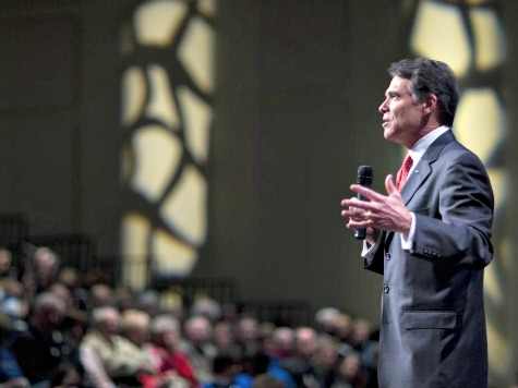 Perry Compares Homosexuality to Alcoholism