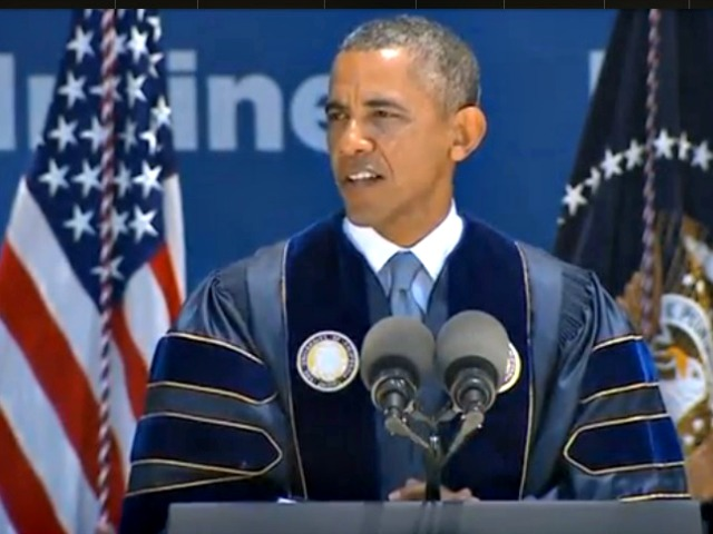 President Obama Talks Climate Change, Optimism at UC Irvine Commencement Speech