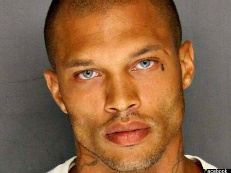 'Violent Criminal' Handsome Mugshot Goes Viral