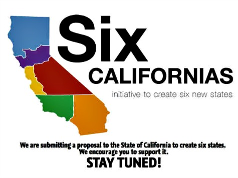 'Crackpot Plan' to Split California into Six States Shoots for 2016 Ballot