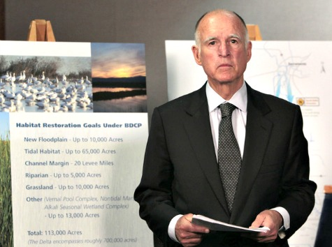 Jerry Brown Job Numbers 'Ridiculous' for Proposed Water Tunnel Project