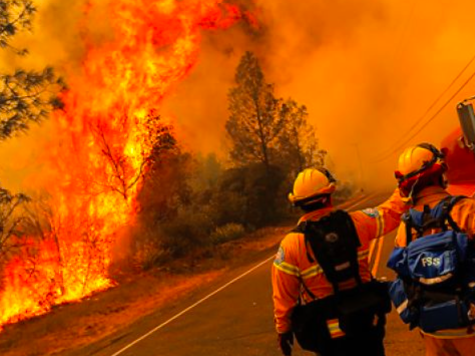 Homes Threatened by 'Butts fire' in Northern California