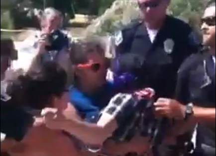 VIDEO: Police Arrest Two Pro-Amnesty Activists at Murrieta