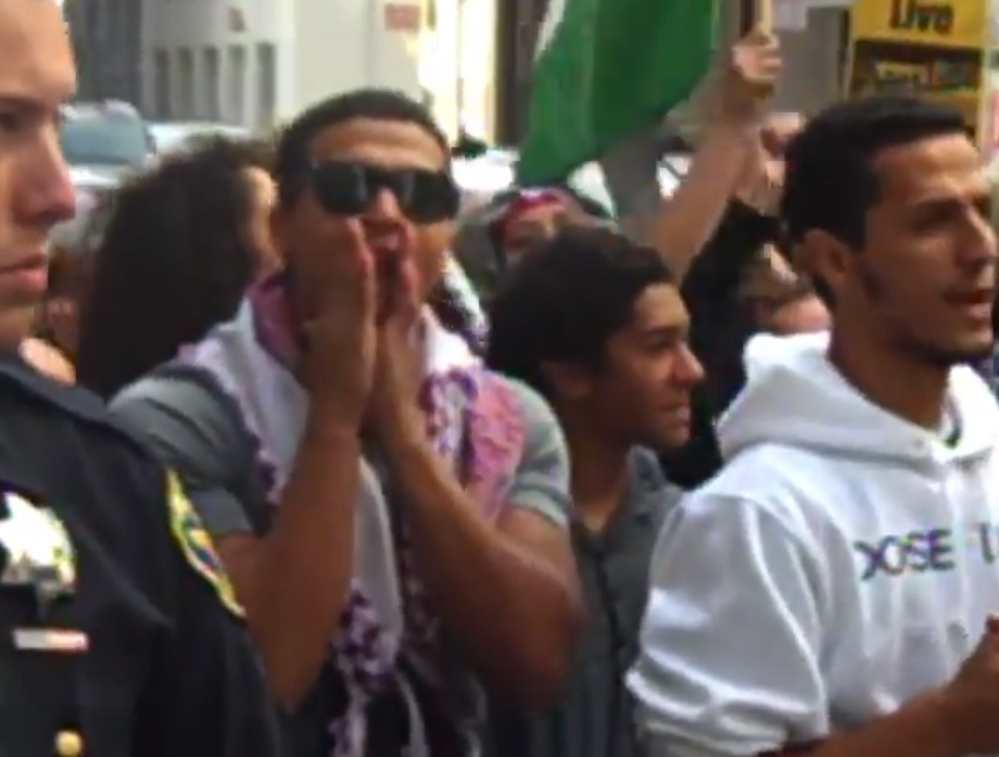 Anti-Israel Protesters Threaten Pro-Israel Demonstrators in SF