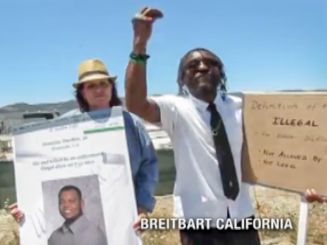 Black Murrieta Protester: 'Illegal'… 'This Is Not a Racial Word!'