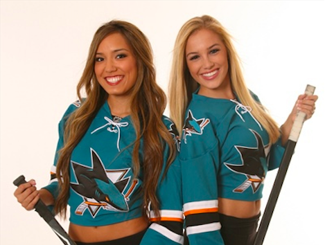 Controversy over Skin-Baring San Jose Sharks 'Ice Girls' Uniforms