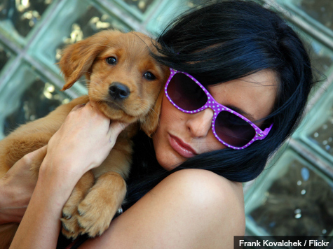 Dating App Tinder Hooks Up Puppies with Loving Homes