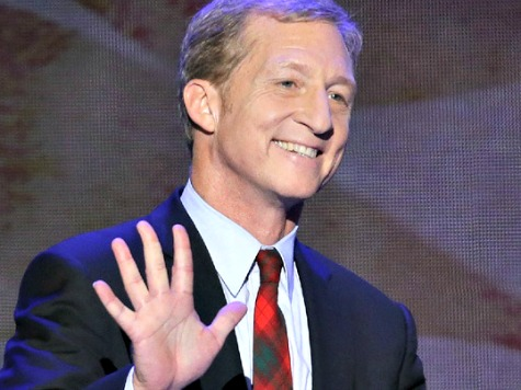 Leftist Billionaire Tom Steyer Is Now America's Top Political Donor