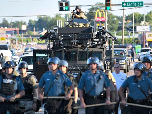 Ferguson Riots Spark O.C. Police to Consider Military Enforcement Tactics