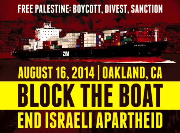 Oakland Protestors Try to Block Israeli Shipping; Union Not Interested