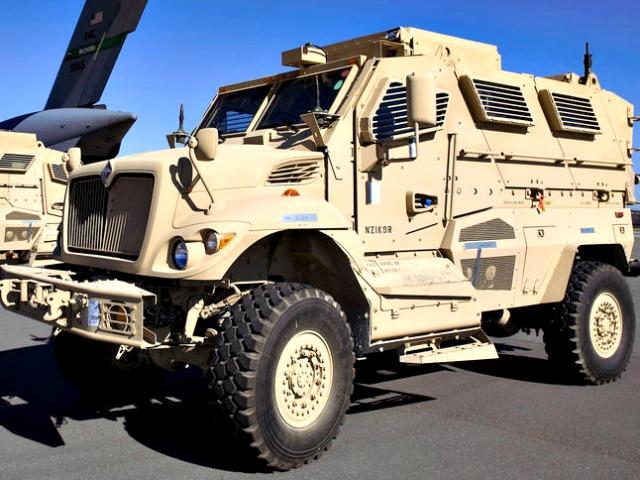 Rural Davis, CA Police Acquire Mine-Resistant War Vehicle