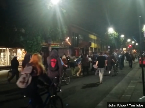 Another Oakland Protest about Ferguson & Sacramento Holds Meeting