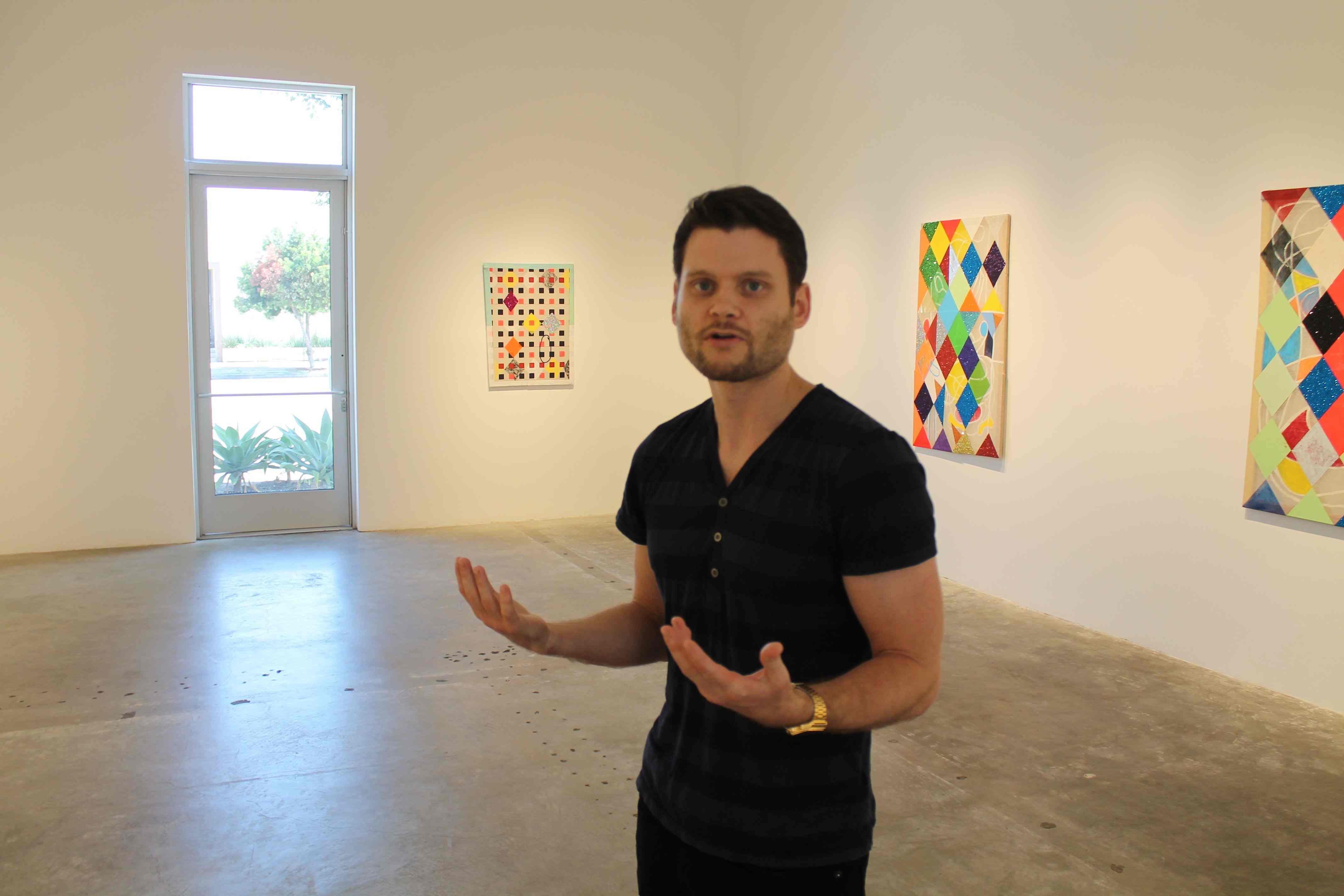 Abstraction, Unnerving: Matthew Carter's Scary Clowns