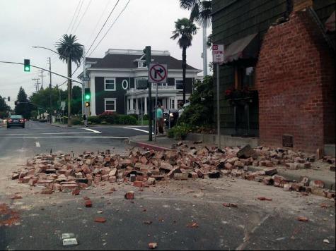 Napa Aftermath: Gawkers Stunned by Quake Damage