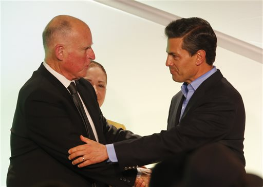 Senator, Assemblyman Protest Governor's Luncheon Honoring Mexican President