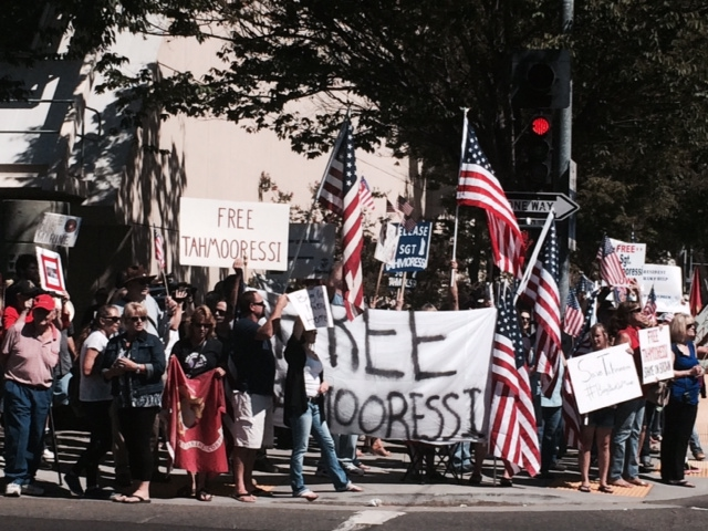 300 Rally to Free Tahmooressi While Brown Dines with Mexican President