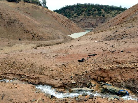 California Land Mass Rising as Water Dries Up