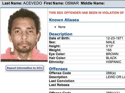 Felony Sex Offender Illegal Alien Caught Crossing El Centro Border