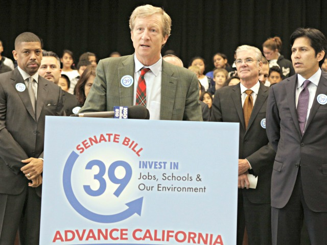 Tom Steyer to Put $1 Million into State Races, Including Races Between Democrats