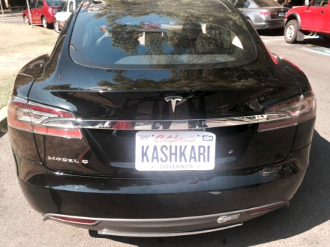 Special Delivery: Kashkari Drives 6,500 Paper Bags to Brown in Tesla