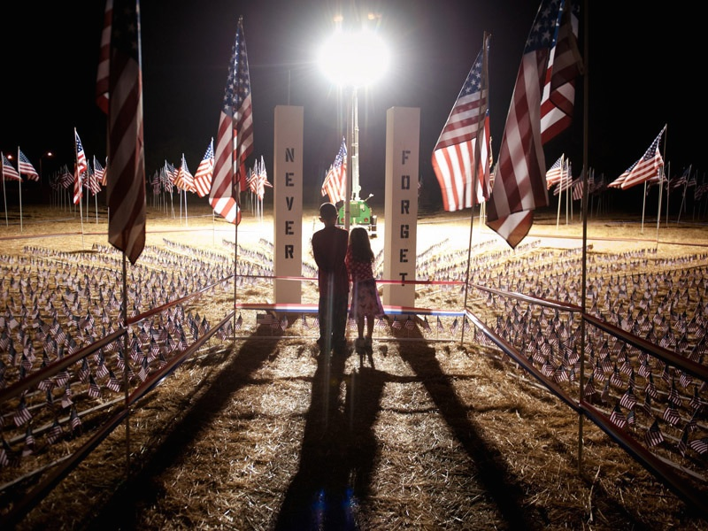 Kids Born After 9/11 Learn at Sacramento Remembrance Park