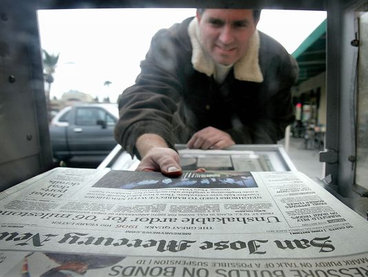 America's 2nd Largest Newspaper Chain Tries for Quick Sale