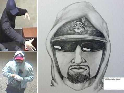 'El Chapparito Bandit' Sketch Released, $20,000 Reward Offered