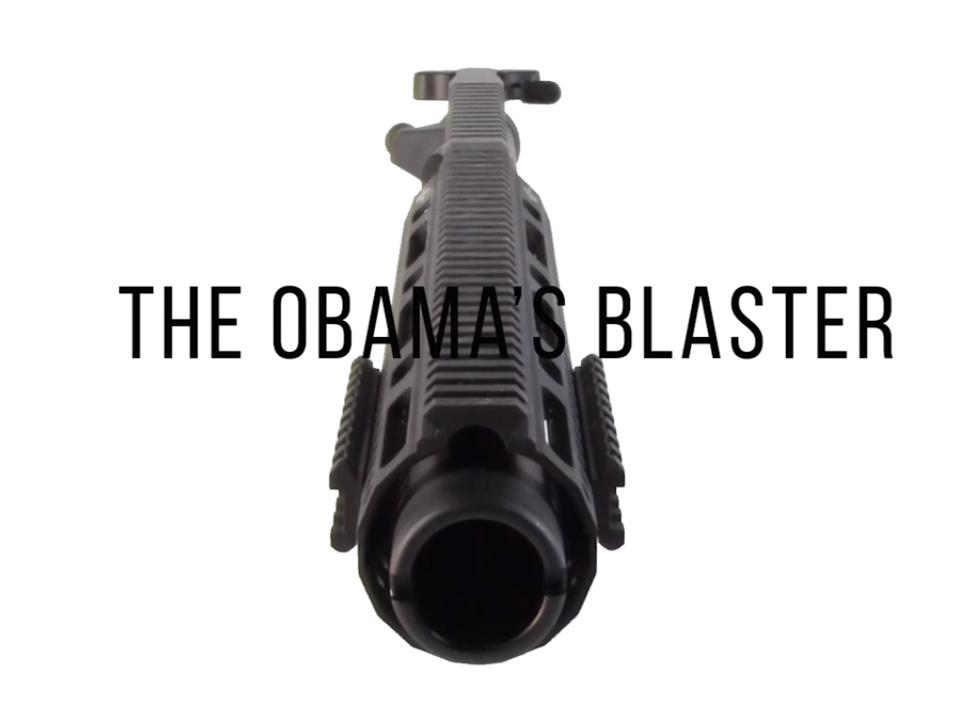 AR-15 Parts Maker Stirs Controversy by Marketing 'Obama's Blaster'