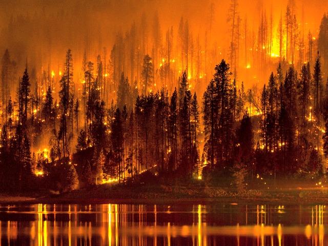 King Fire Sets World Record Fire Retardant Drop, 80,000 Acres Burning