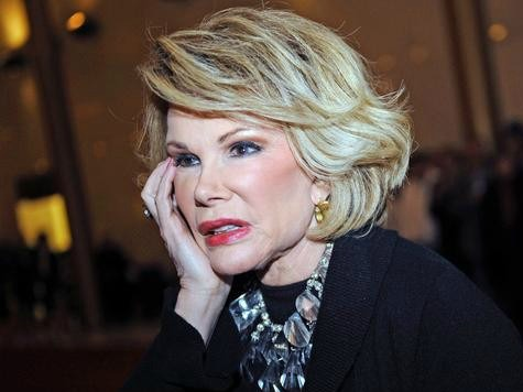 Joan Rivers Promotes iPhone 6 From The Dead